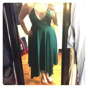 Gorgeous Emerald Dress by Kimchi Blue